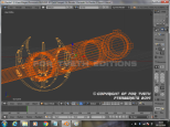 Dark Dragon Katana Wireframe 2