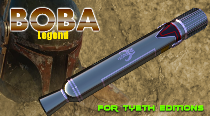 BOBA Legend Saber – The man with five lines