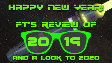 New Year Review Plate