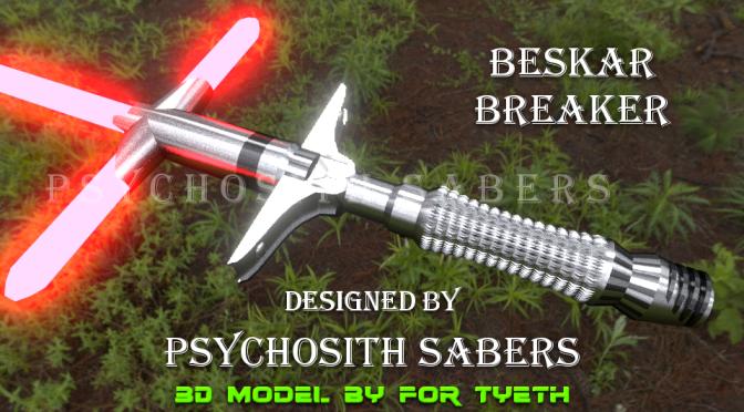 Beskar Breaker Saber – A PsychoSith design