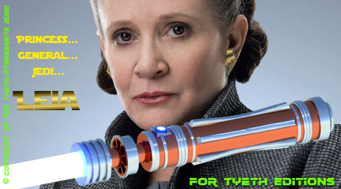"""Leia's Knightsaber"" for Princess/General Leia – Inspired by TROS"