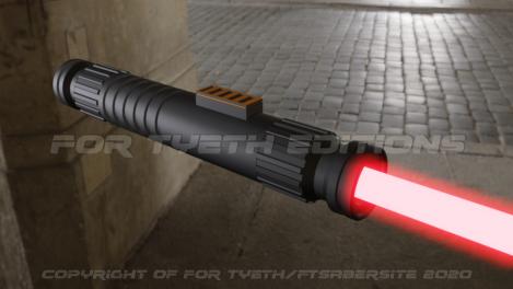 FT's first Blender 2.8 saber 5