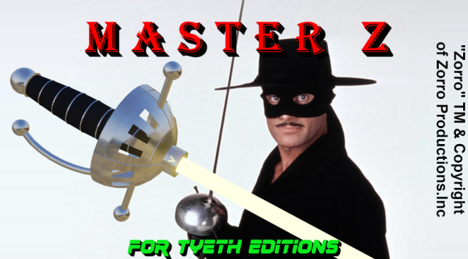 Master Z Lightsaber – Don Diego de la Vega's saber