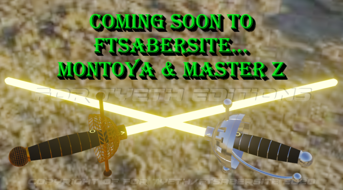 Master Montoya and Master Z Coming Soon!