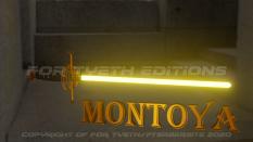 """""""Montoya Saber"""" poster 2"""