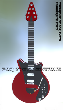 My Red Special poster.