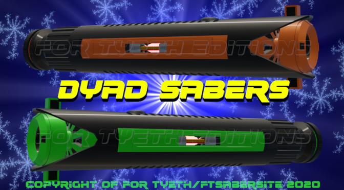 Dyad Sabers – It's all about pairs (and boots)