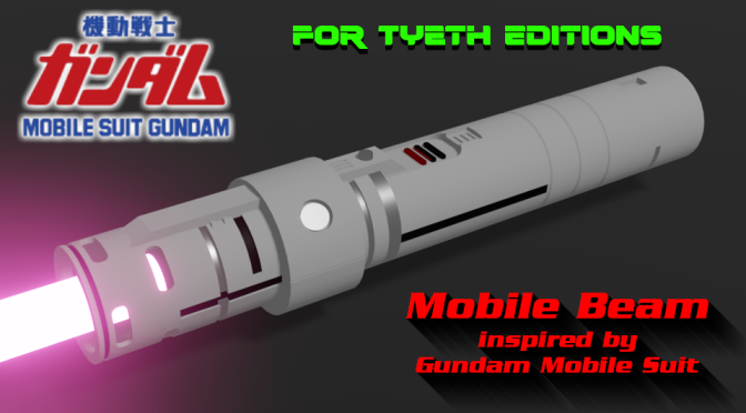 Mobile Beam Saber – Inspired by Mobile Suit Gundam anime