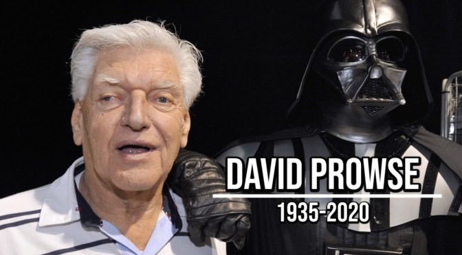Yes My Lord – Dave Prowse, Lord Vader, Legend and Gent has passed away