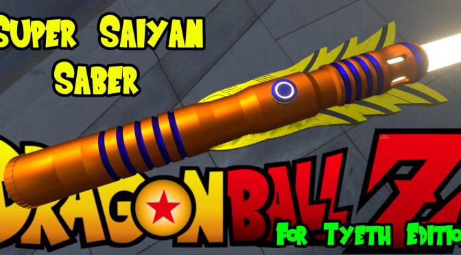 """""""Super Saiyan Saber"""" – Another Gaming inspired saber"""