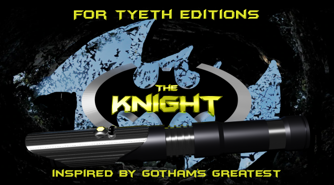 """""""The Knight"""" Inspired by Gotham's Greatest"""