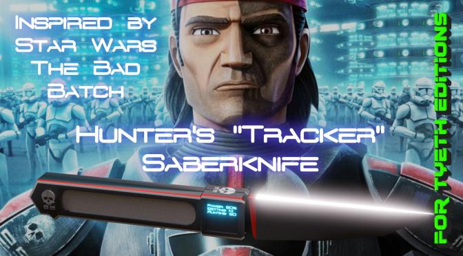 """Tracker"" Saberknife – Inspired by The Bad Batch's Hunter"