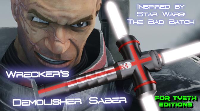 """Demolisher"" Saber – for Wrecker of the Bad Batch – Mystery Saber 2"