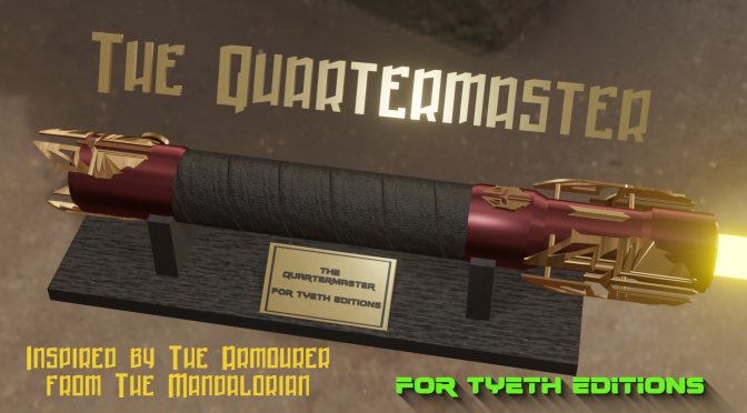 """""""The Quartermaster"""" Saber – Inspired by The Mandalorian's """"The Armourer"""""""
