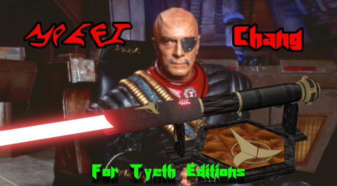 """Chang  Saber"" – A Weapon for a Klingon General"