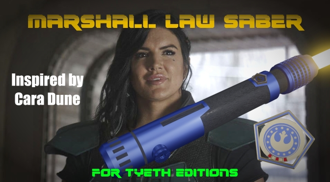Marshall Law Saber – Inspired by Cara Dune